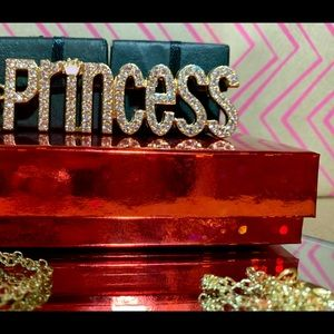 Jewelry - Princess Name Plate Necklace